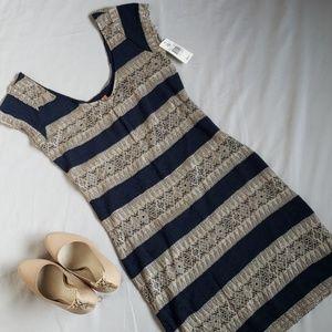 Lord & Taylor Dresses - NWT Lord & Taylor Mini Body Con Dress